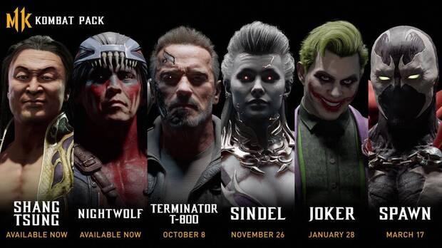 Mortal Kombat 11: Confirmados Terminator, Sindel, Joker y Spawn como nuevos personajes Imagen 2