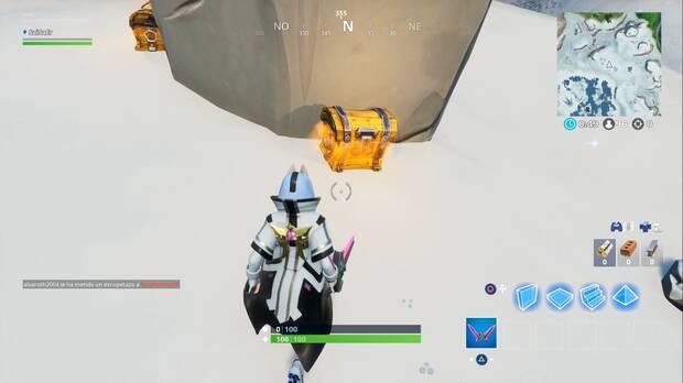 Fortnite - Los dos cofres del moai
