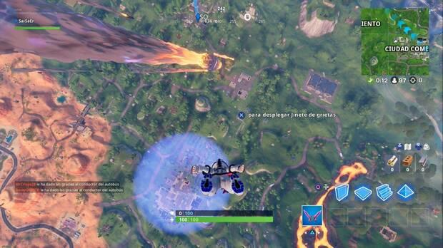 Fortnite - Meteorito sobre Polvorín Polvoriento