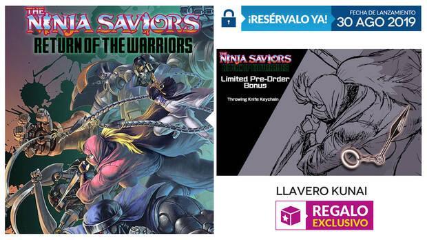 GAME anuncia su incentivo por reserva para The Ninja Saviors - Return of the Warriors Imagen 2