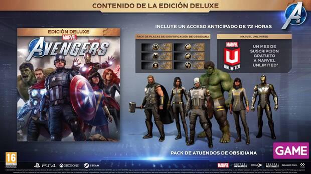 Estas son todas las ediciones de Marvel's Avengers disponibles en GAME Imagen 2