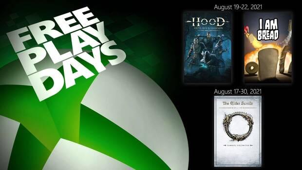 Juegos gratis con Xbox Live Gold este fin de semana.