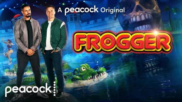 Imagen promocional de Frogger para Peacock.