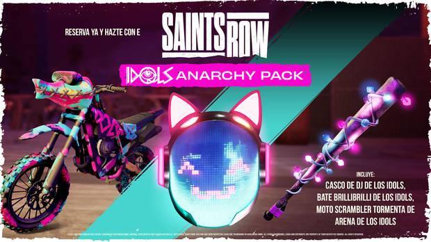 The Idols Anarchy Pack para Saints Row.