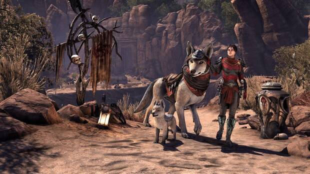 Captura de The Elder Scrolls Online: Gates of Oblivion.
