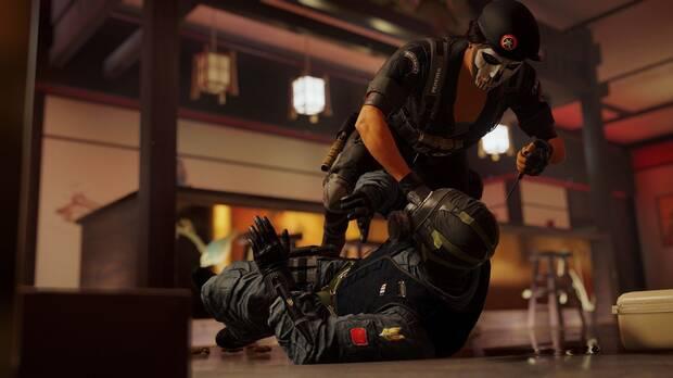 Captura de Rainbow Six Siege.