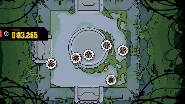 Disc Room, de los creadores de Minit, debuta el 22 de octubre en Steam y Switch Imagen 2