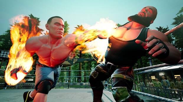 WWE 2K Battlegrounds PS Plus