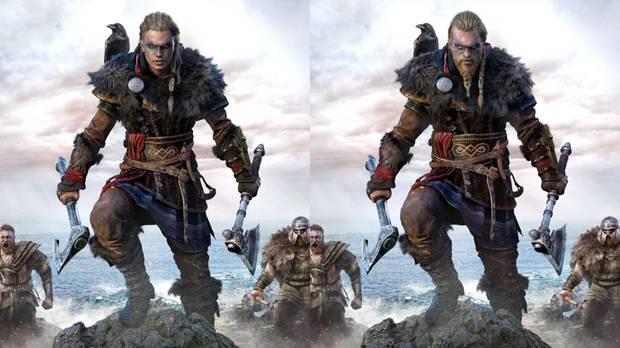 Eivor femenina y Eivor masculino en Assassin's Creed Valhalla.