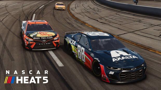 Captura de NASCAR Heat 5.