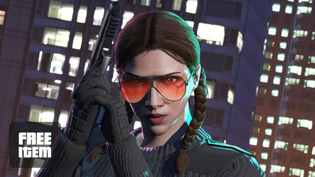 Gift sunglasses in GTA Online