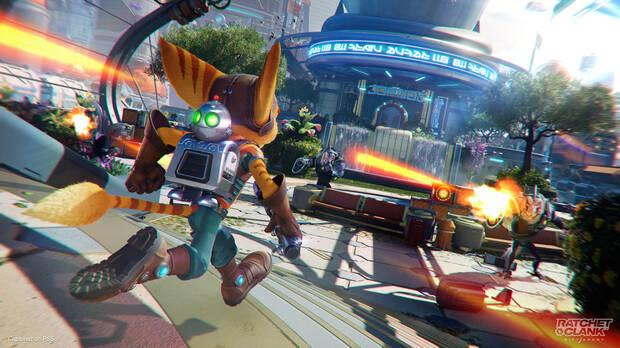 Capture of Ratchet and Clank: One Dimensi