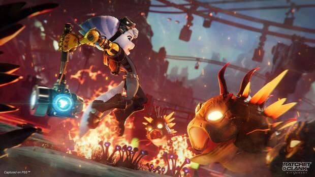 Rivet en Ratchet & Clank: Una Dimensi