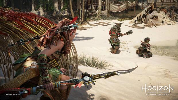 Horizon 2 Forbidden West gameplay State of Play