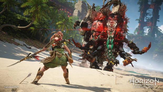 Horizon 2: Forbidden West tiempos de carga PS4 y PS5