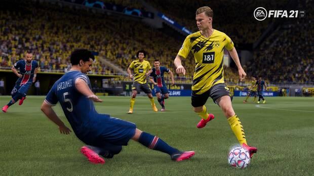 FIFA 21 sobres cajas de bot