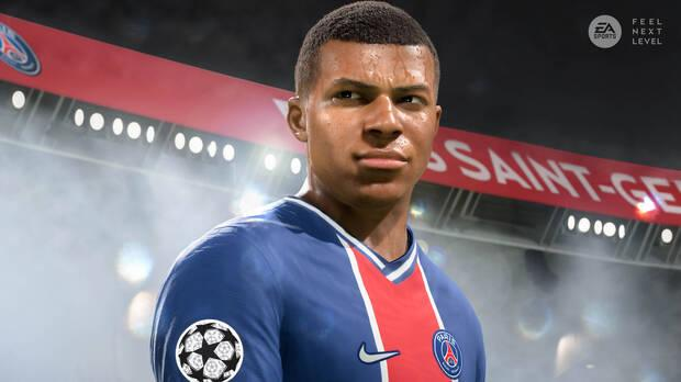 FIFA 21 PS5 y Xbox Series X/S con Kylian Mbapp