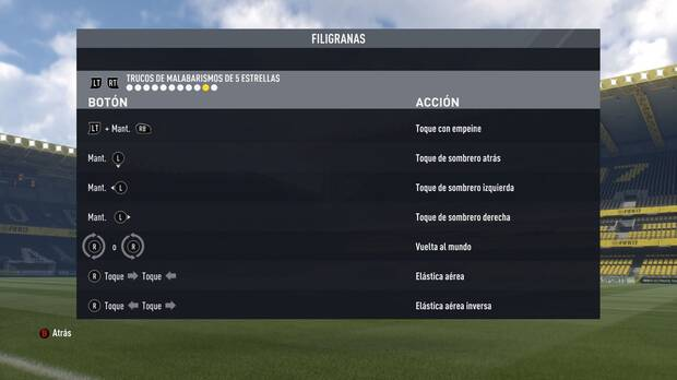 Trucos de malabarismos en FIFA 17