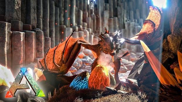 Todo sobre los Dragones en ARK
