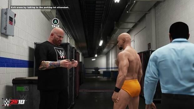 WWE 2K18 presenta el Modo Carrera, donde podrás forjar tu propia leyenda Imagen 2
