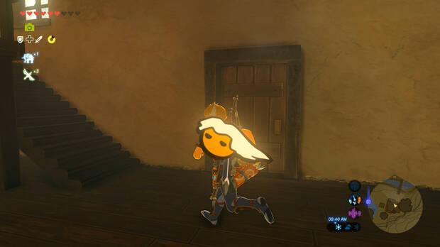 Un 'mod' introduce a CJ de GTA San Andreas en Zelda: Breath of the Wild Imagen 3
