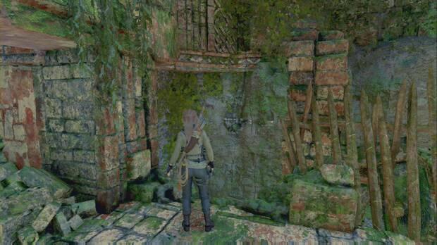 Tumba de Desafío Portal del Inframundo (Selva peruana): salta por la pared para seguir subiendo