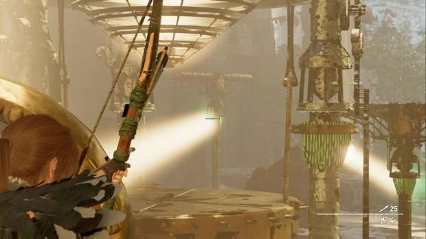 Tumba Templo del Sol: coloca de nuevo el Espejo 1