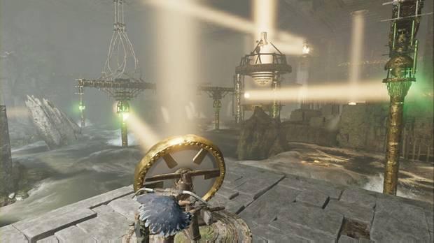 Tumba Templo del Sol: coloca el Espejo 4