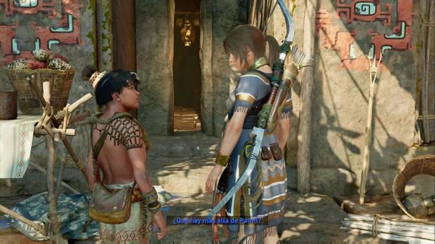 Shadow of the Tomb Raider - La ciudad oculta: Lara habla sobre el mundo exterior