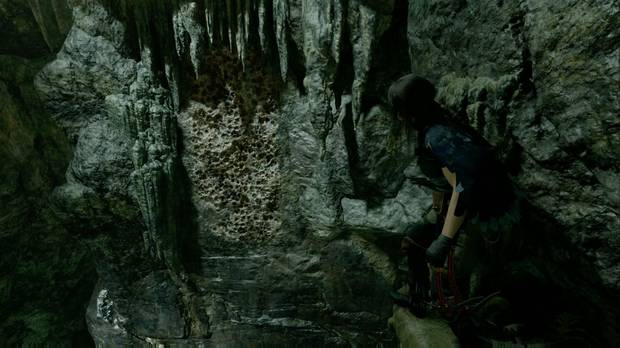 shadow of the tomb raider - el ojo de la serpiente: salta desde la cornisa del acantilado