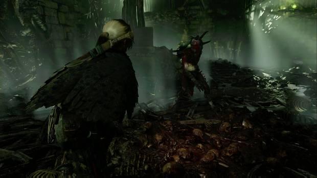 shadow of the tomb raider - el ojo de la serpiente: acaba con la criatura