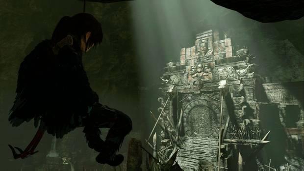 shadow of the tomb raider - el ojo de la serpiente: lara llega al fondo del templo del cenote