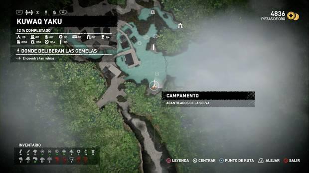 Campamento Acantilados de la selva (Kuwaq Yaku)