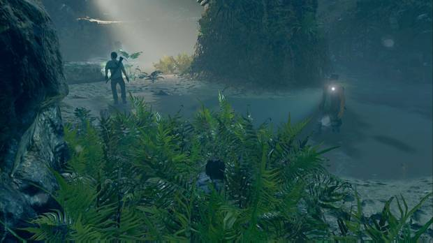 shadow of the tomb raider - chaparrón: usa el follaje y los muros con vegetación o barro para eliminar a los enemigos