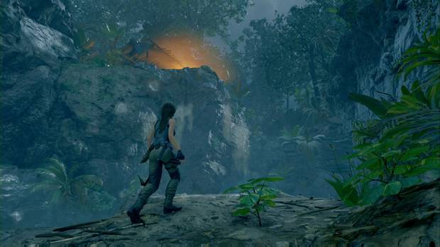 shadow of the tomb raider - chaparrón: lara busca a jonah