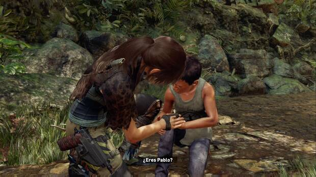 Shadow of the Tomb Raider - Lidia con los saqueadores: Lara encuentra a Pablo