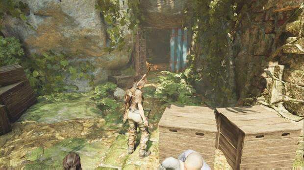 Shadow of the Tomb Raider - Lidia con los saqueadores: abre esta puerta