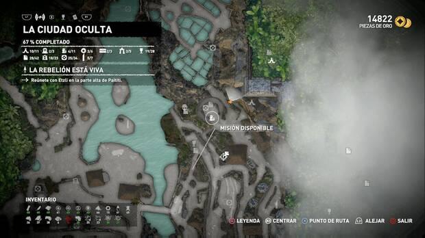 Shadow of the Tomb Raider - Localización de la misión secundaria Libera a los rebeldes