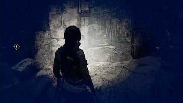 Shadow of the Tomb Raider - Aterrizaje forzoso: en el cruce, mira a la izquierda