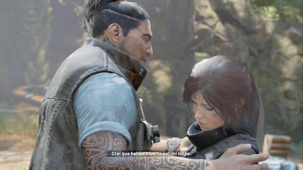 Shadow of the Tomb Raider - Aterrizaje forzoso: Lara y Jonah se encuentran de nuevo