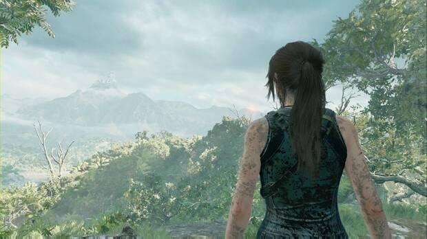 Shadow of the Tomb Raider - Aterrizaje forzoso: Lara encuentra la Montaña cornada de plata