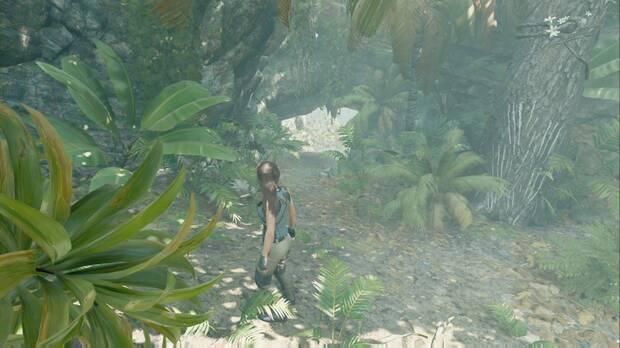 Shadow of the Tomb Raider - Aterrizaje forzoso: si continúas por el borde, darás con otro alijo