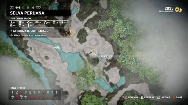 Shadow of the Tomb Raider - Aterrizaje forzoso: recoge flores para completar el desafío (2)