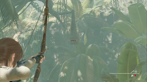 Shadow of the Tomb Raider - Aterrizaje forzoso: derriba estos nidos para el Desafío 2