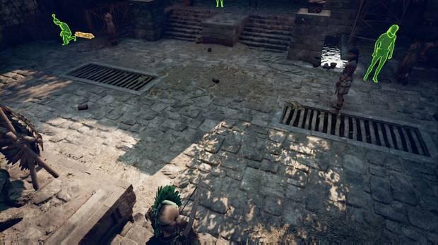 Shadow of the Tomb Raider - El rescate de Hakan: NPCs que activan las palancas