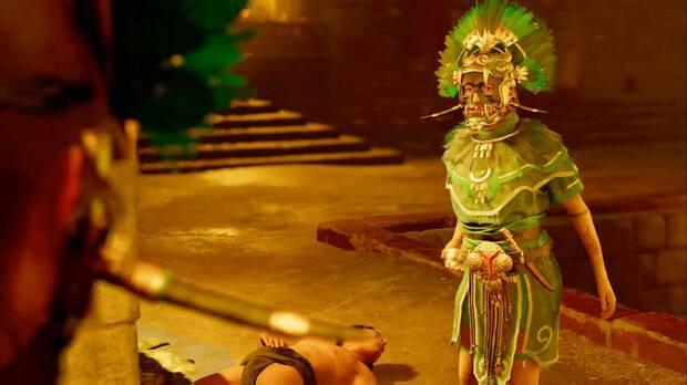 shadow of the tomb raider - el último emperador: Unuratu sabe defenderse