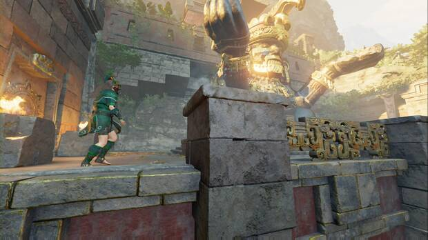 shadow of the tomb raider - el último emperador: lara se dirige a la tumba