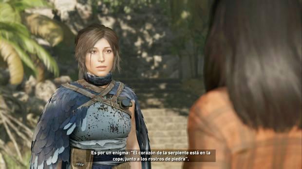 Shadow of the Tomb Raider - Via veritas: Lara busca información sobre la profecía