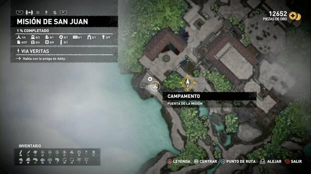 Campamento Puerta de la Misión (Misión de San Juan)