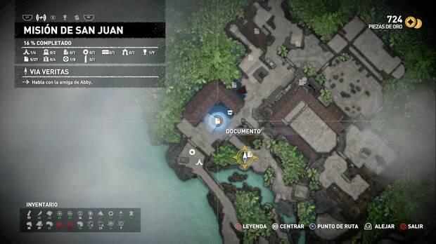 Documento Un desastre tras otro (Misión de San Juan)